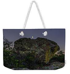 Boulder Moonrise Weekender Tote Bag
