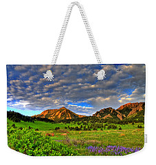 Boulder Spring Wildflowers Weekender Tote Bag by Scott Mahon