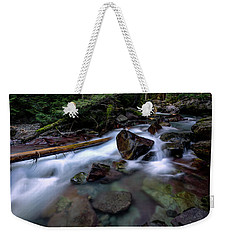 Boulders In Avalanche Creek Weekender Tote Bag