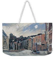 Boulevard La Sauveniere Liege Weekender Tote Bag