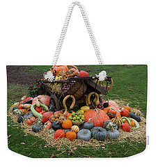 Bountiful Harvest L Weekender Tote Bag by Shirley Mitchell