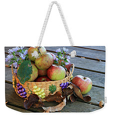 Weekender Tote Bag featuring the photograph Bountiful Harvest by Rick Morgan
