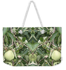 Weekender Tote Bag featuring the photograph Bounty by Christina Verdgeline