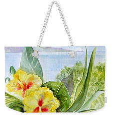 Bounty On The Balcony Weekender Tote Bag