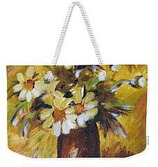 Bouquet Flowers Of Gold Weekender Tote Bag