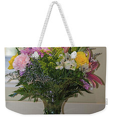 Bouquet Of Flowers Weekender Tote Bag by Nance Larson