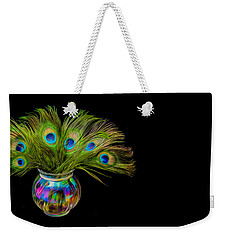 Bouquet Of Peacock Weekender Tote Bag