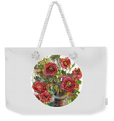 Bouquet Of Poppies Weekender Tote Bag by Mary Wolf