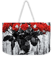 Bouquet Of Roses Weekender Tote Bag by Wim Lanclus