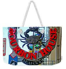 Bourbon House Signage Weekender Tote Bag