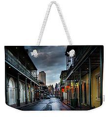 Bourbon Rain Weekender Tote Bag