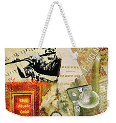 Bourbon Street Collage Weekender Tote Bag