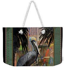 Bourbon Street Pelican Weekender Tote Bag