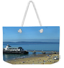 Bournemouth Pier Dorset - May 2010 Weekender Tote Bag