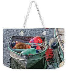 Bouys In A Boat Weekender Tote Bag