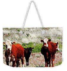 Bovine Weekender Tote Bag