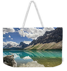 Bow Lake Weekender Tote Bag by Christina Lihani