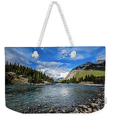 Bow River Alberta Weekender Tote Bag
