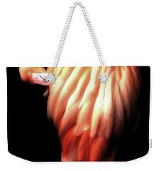 Bowie Flamingo Weekender Tote Bag