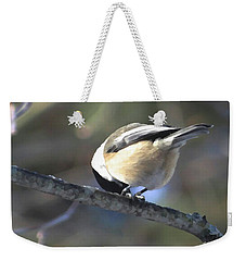 Bowing On A Branch Weekender Tote Bag