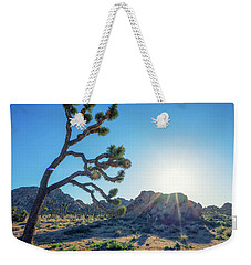 Bowing To The Sun Weekender Tote Bag