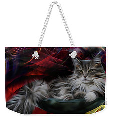 Bowl Of More Fur Weekender Tote Bag