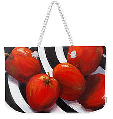 Bowl Of Shiny Apples Weekender Tote Bag