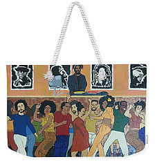 Bowl Train Weekender Tote Bag