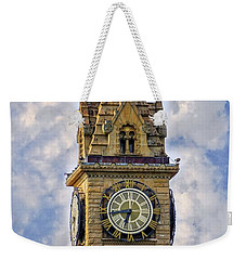 Weekender Tote Bag featuring the photograph Bowling Green Court House by Mary Timman