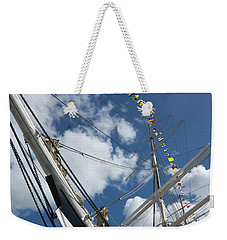 Bowsprit And Flags Weekender Tote Bag