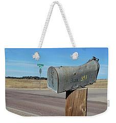 Box 391 Weekender Tote Bag