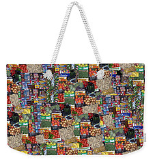 Box Of Food Weekender Tote Bag by David and Lynn Keller