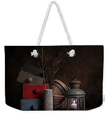 Boxes And Bowls Weekender Tote Bag by Tom Mc Nemar
