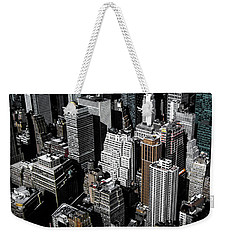 Weekender Tote Bag featuring the photograph Boxes Of Manhattan by Nicklas Gustafsson