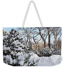 Boxing Day Weekender Tote Bag