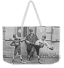 Boxing Under Eyes Of Master, 1904 Weekender Tote Bag