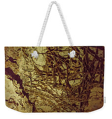 Weekender Tote Bag featuring the photograph Boxwork In Wind Caves by Brenda Jacobs