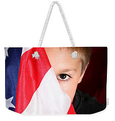Boy And His Country Weekender Tote Bag