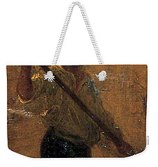 Weekender Tote Bag featuring the painting Boy In A Punt by Henry Scott Tuke