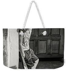 Boy On The Corner Weekender Tote Bag