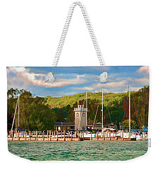 Boyne City Marina Weekender Tote Bag