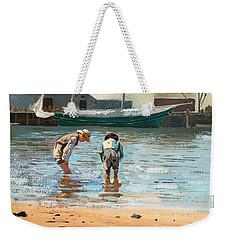 Boys Wading Weekender Tote Bag