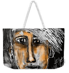Weekender Tote Bag featuring the digital art Boys Will Be Boys  by Sladjana Lazarevic