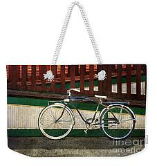 Bozeman Antique Bicycle Weekender Tote Bag