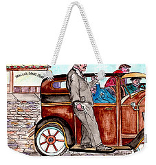 Bracco Candy Store - Window To Life As It Happened Weekender Tote Bag