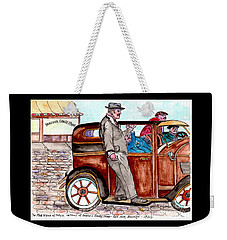 Bracco Candy Store - Window To Life As It Happened Weekender Tote Bag by Philip Bracco