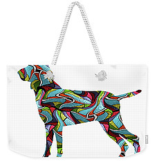 Bracco Italiano Spirit Glass Weekender Tote Bag