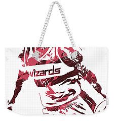 Bradley Beal Washington Wizards Pixel Art 3 Weekender Tote Bag