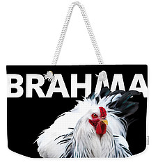 Brahma Breeders Rock T-shirt Print Weekender Tote Bag