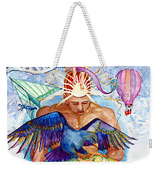 Brain Child Weekender Tote Bag by Melinda Dare Benfield